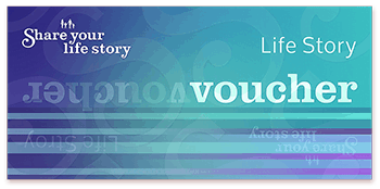 a life story gift voucher