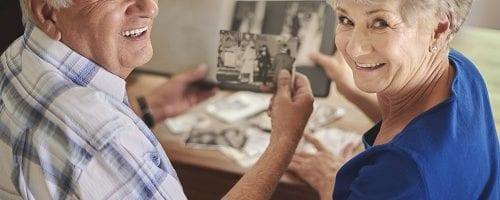gathering photos for your memoir