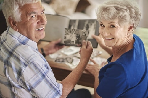 gathering photos for your memoir