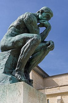 The Thinker: Writing my life story